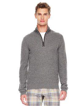 N28Z0 Michael Kors Front-Zip Sweater