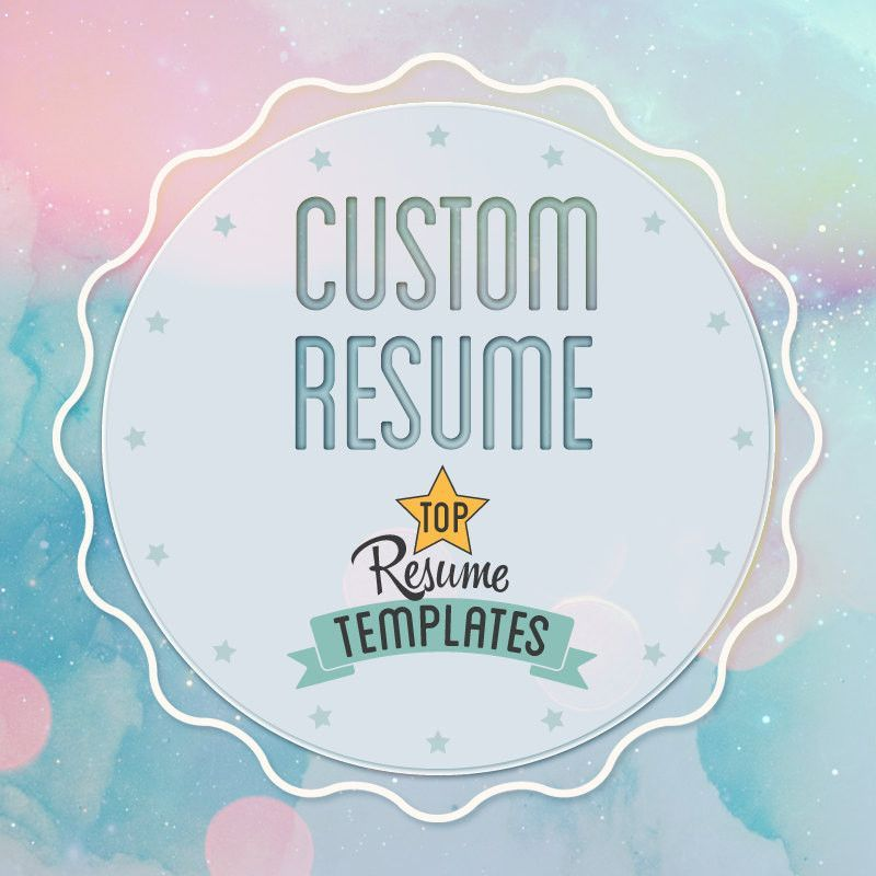 Creative Custom Resume + Cover Letter Editing, CV Template, A4 - resume editing