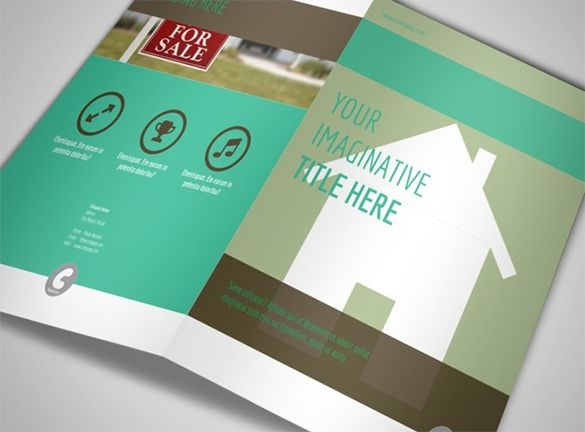 real estate brochure templates psd free download - 16 real estate brochures free psd eps word pdf