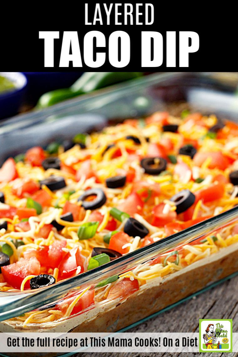 Easy Taco Dip Appetizer In 2020 Layered Taco Dip Layered Dip Recipes Taco Dip