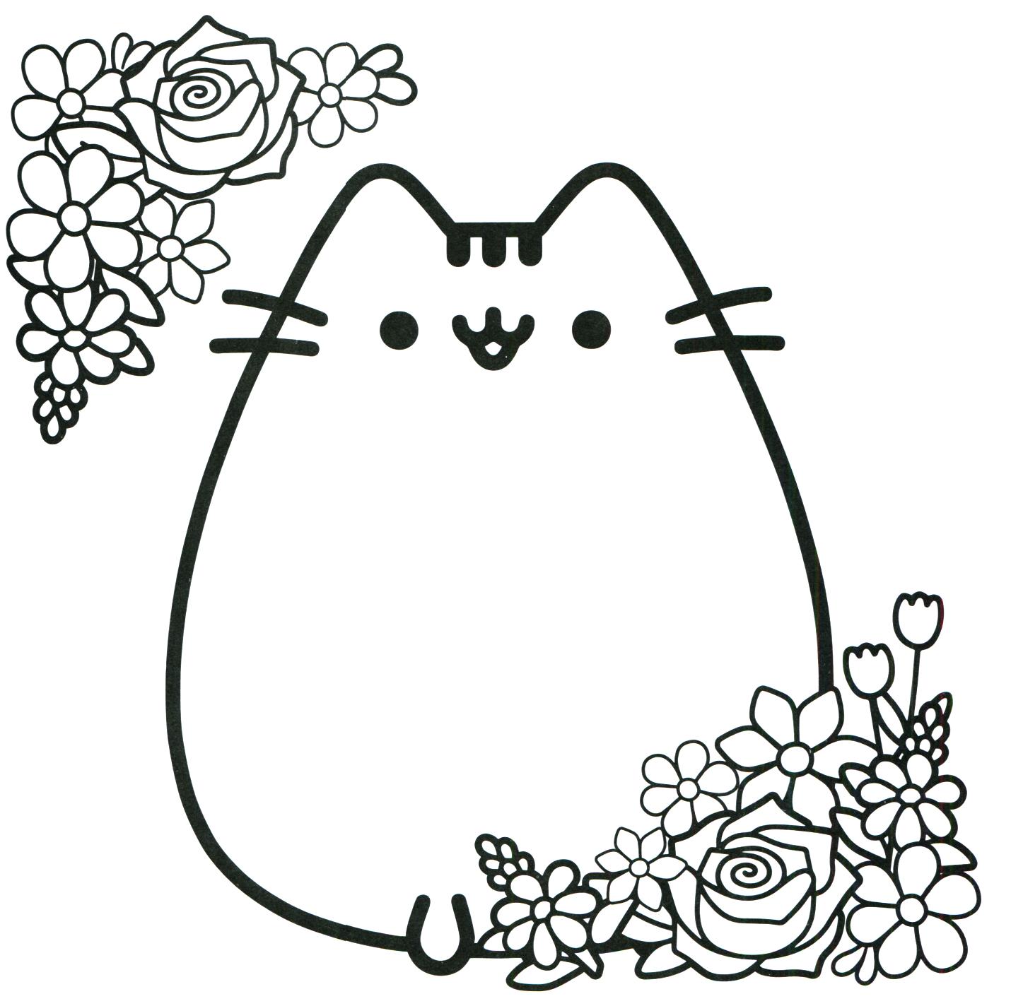 Pusheen Coloring Book Pusheen Pusheen The Cat Papere Segni
