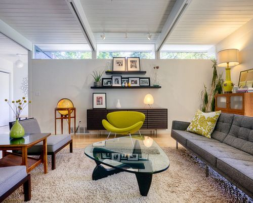 Living Room Design Houzz Mesmerizing Best Midcentury Living Room Design Ideas & Remodel Pictures 2018