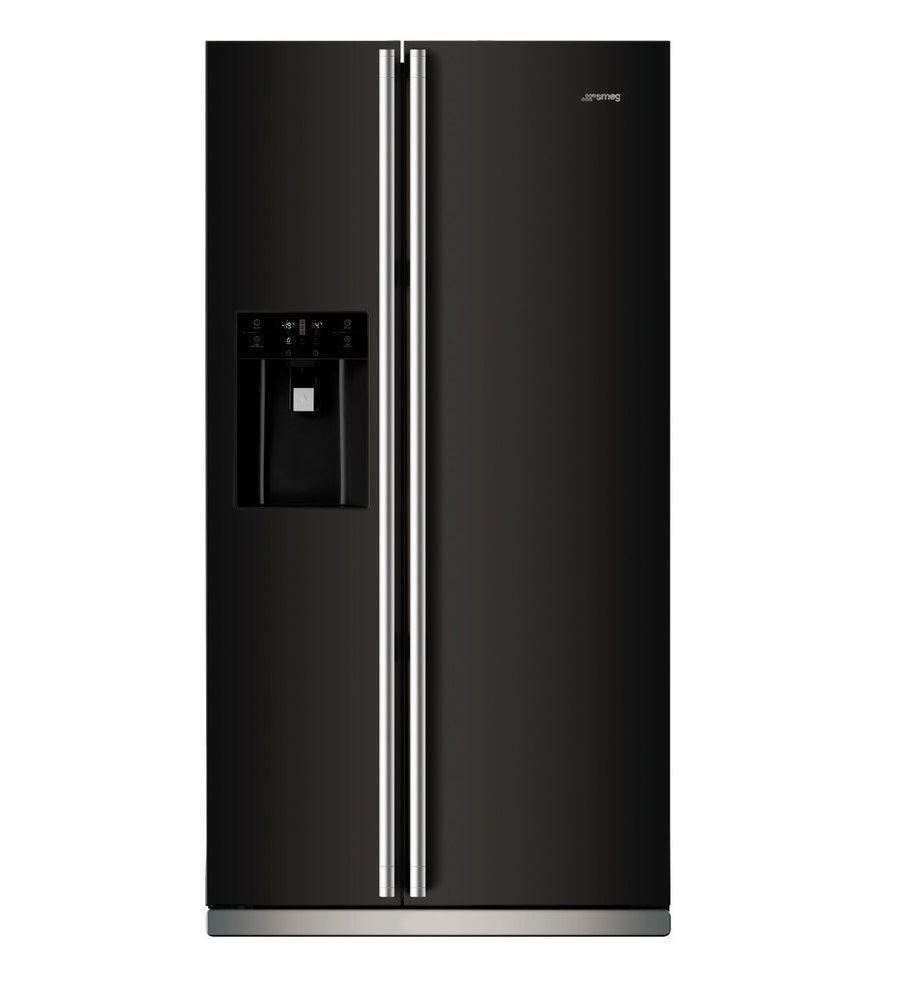 Picture Of Smeg Sr610nekit 608l Ice Water Side By Side Door Fridge Freezer Immagini Cucine