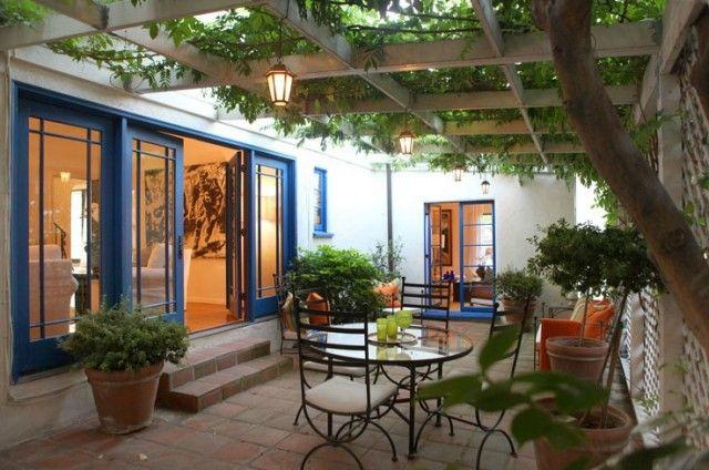 Spanish Patio | Spanish Rennovation Ideas | Spanish patio ...
