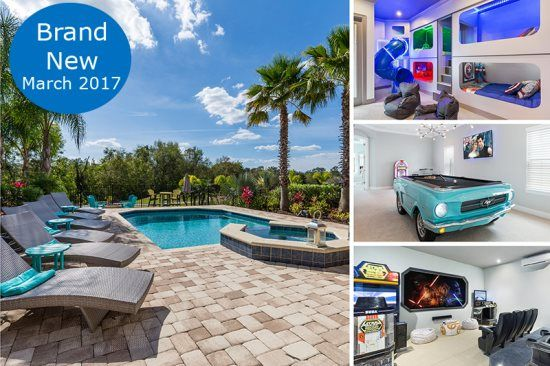 Designed for Vacation   Movie Room, Arcades, Purpose Built Bedrooms, Retro Game Room, West Facing, Extended Deck with Fire Pit