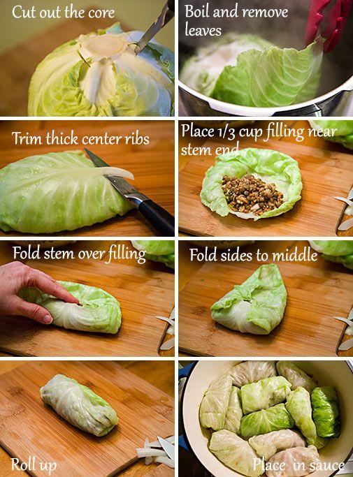 Vegan Cabbage Rolls | FatFree Vegan Kitchen