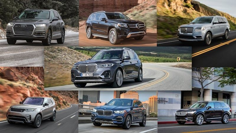 Comparison 2019 Bmw X7 Vs Mercedes Audi Volvo Land Rover Bmw Has Launched 523bhp Versions Of The X5 And X7 Suvs New Bmw X7 Bmw S Flagship In 2020 Bmw X7 Suv Volvo
