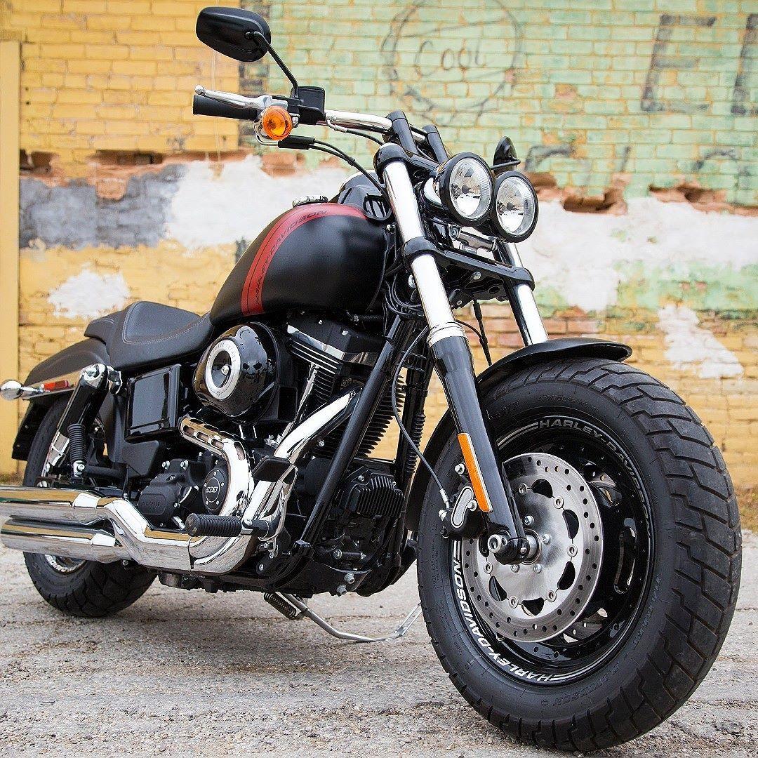 Harley Davidson Dyna Fat Bob 2016 Motos Com Preço Do Ano Pado Marca Americana