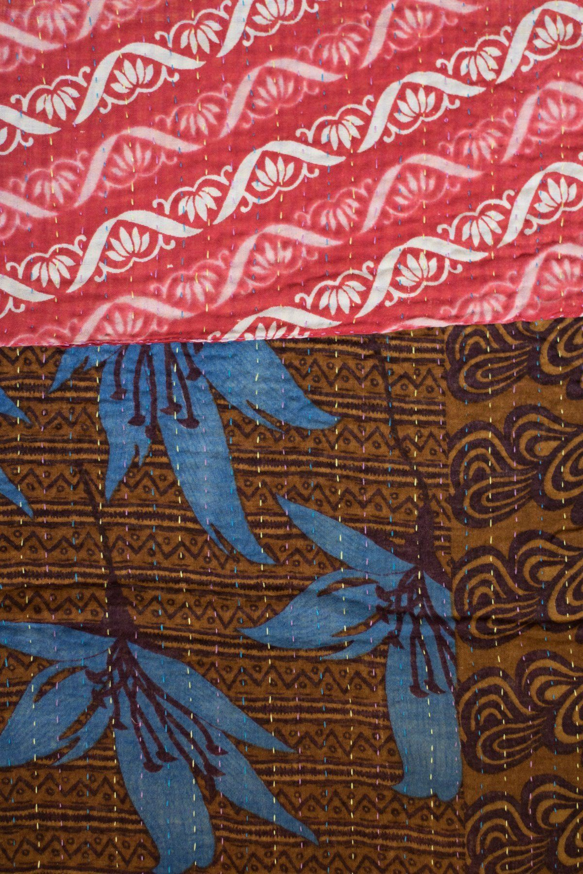 Kantha Table Runner Cotton C4