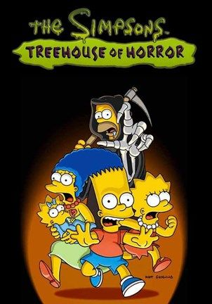 The Simpsons Treehouse Of Horror Simpsons Treehouse Of Horror The Simpsons Simpsons Drawings