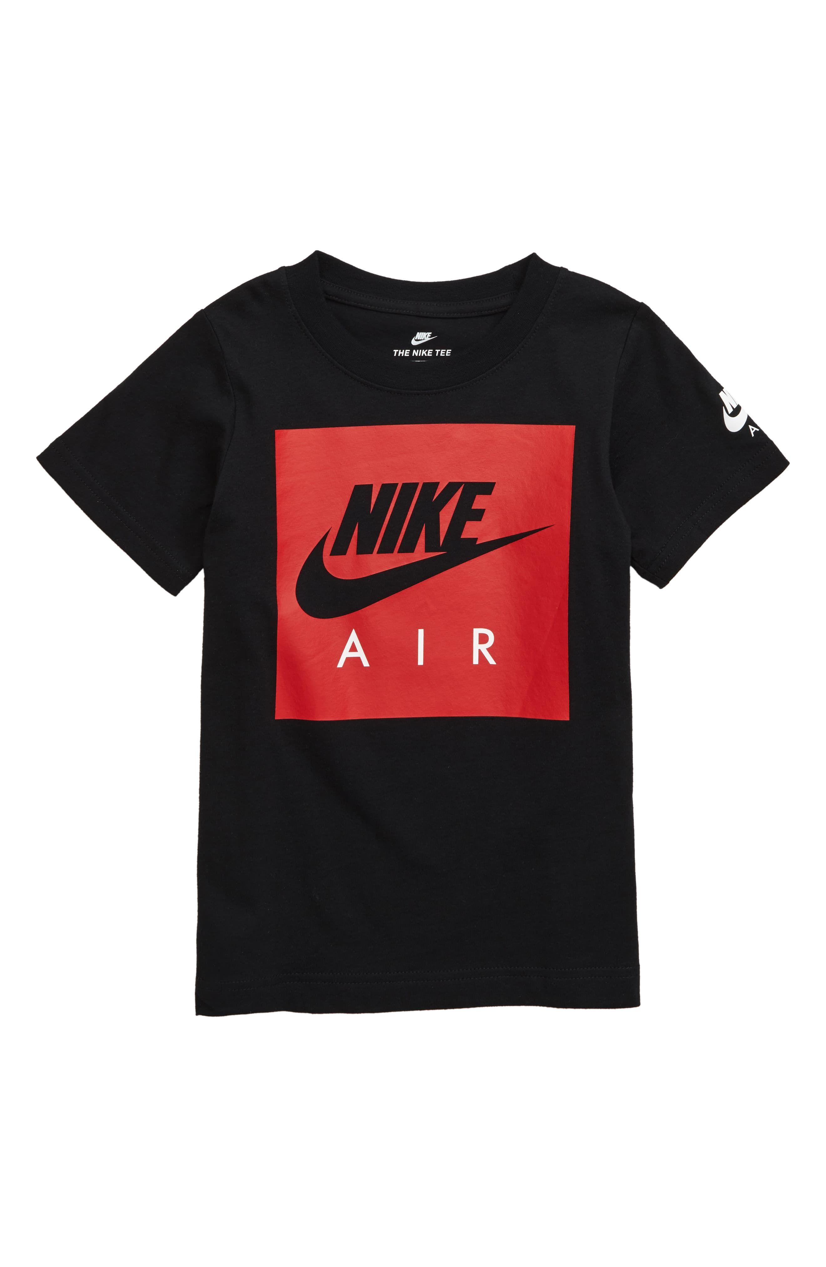 Votación Ajustable haga turismo  Nike Air Box Logo T-Shirt (Toddler Boys & Little Boys) | Nordstrom | Nike  shirts women, Nike air shirt, Nike mens shirts