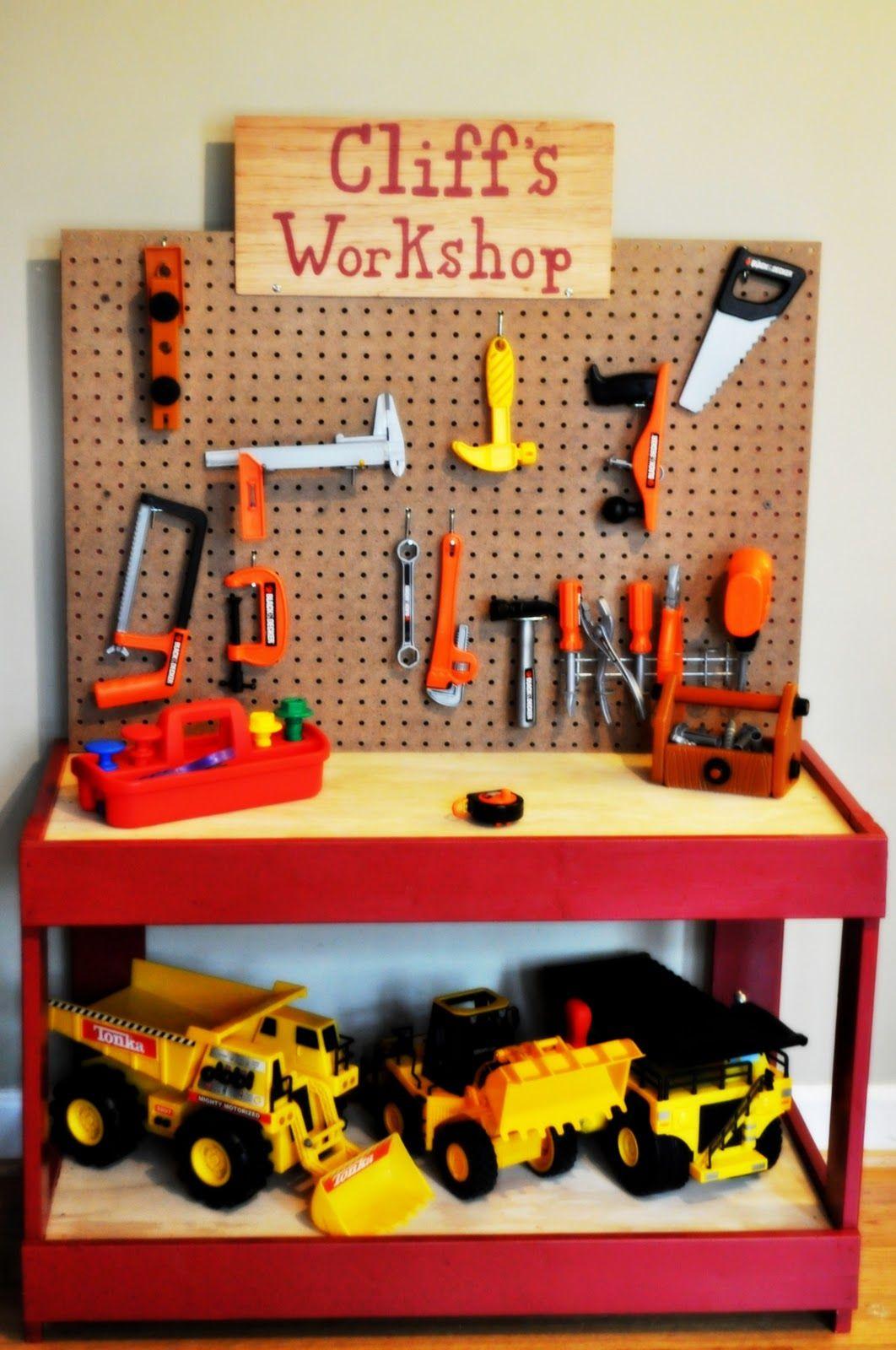 kids 39 workbench parenting stuff pinterest enfants. Black Bedroom Furniture Sets. Home Design Ideas