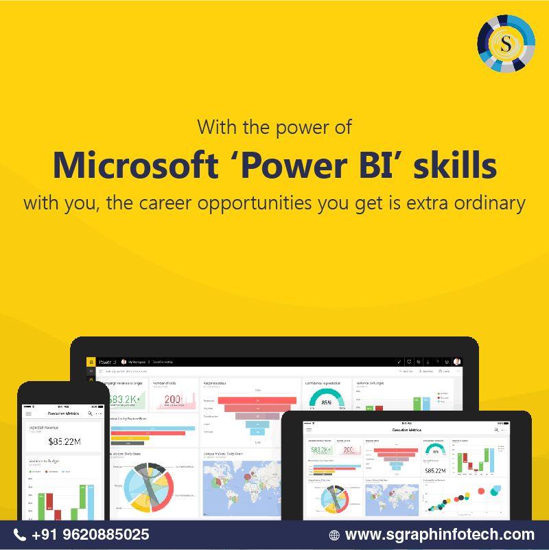 Skills to Learn Power BI - basic concepts for Power BI service - datapower resume