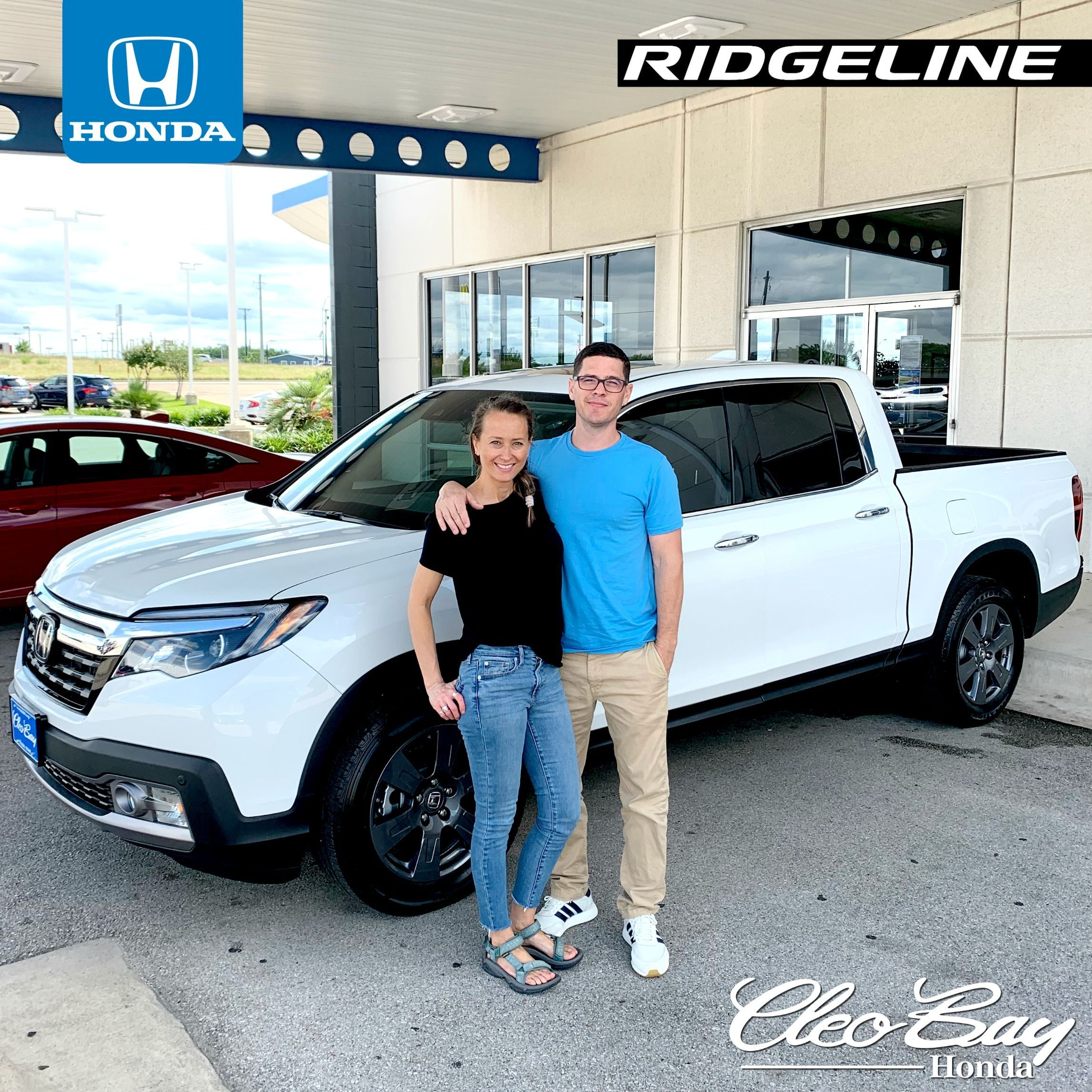 Congratulations George Nancy On Your Recent Purchase Of A New 2020 Honda Ridgeline Rtl E Click The Pic To See Our Current In In 2020 Honda Ridgeline New Honda Honda