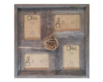 Rustic Barn Wood Window Framenot for pictures di RusticDecorFrames