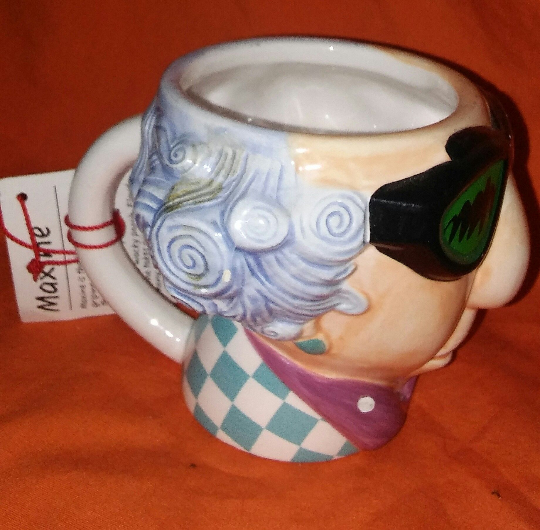 A never used ceramic coffee mug of maxine from shoebox greetings by a never used ceramic coffee mug of maxine from shoebox greetings by hallmark wearing sunglasses and m4hsunfo Image collections