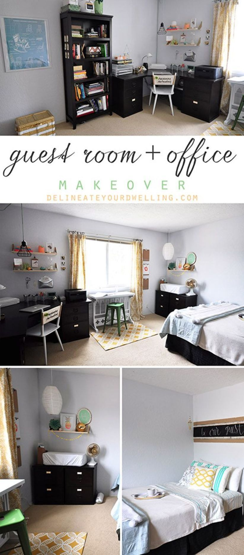 Guest Room + Office Makeover Reveal, Overview