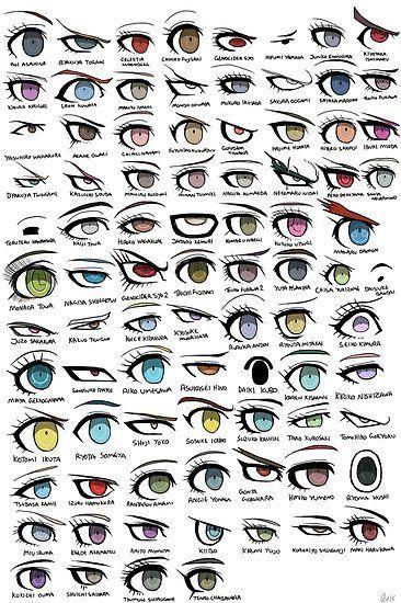Photo of Danganronpa Eyes | Poster – Drawing / Painting – #Danganronpa #eyes #Poster #Drawing …