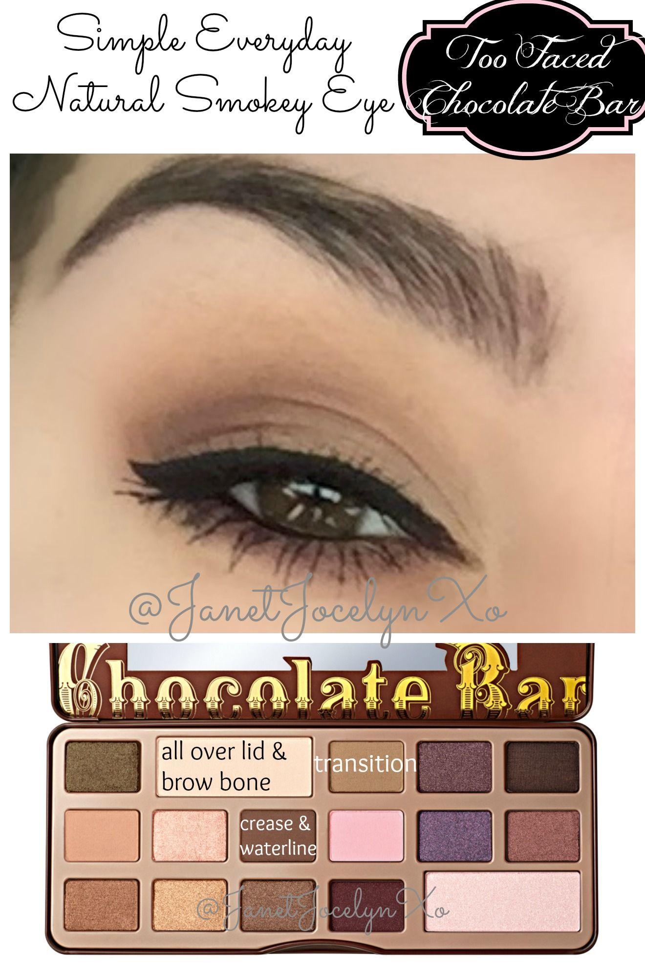 Everyday Natural Smokey Eye Too Faced Chocolate Bar