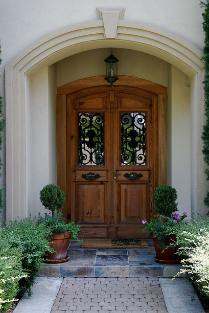Antique Italian Front Doors And Rosemary Topiaries Italy Pinterest