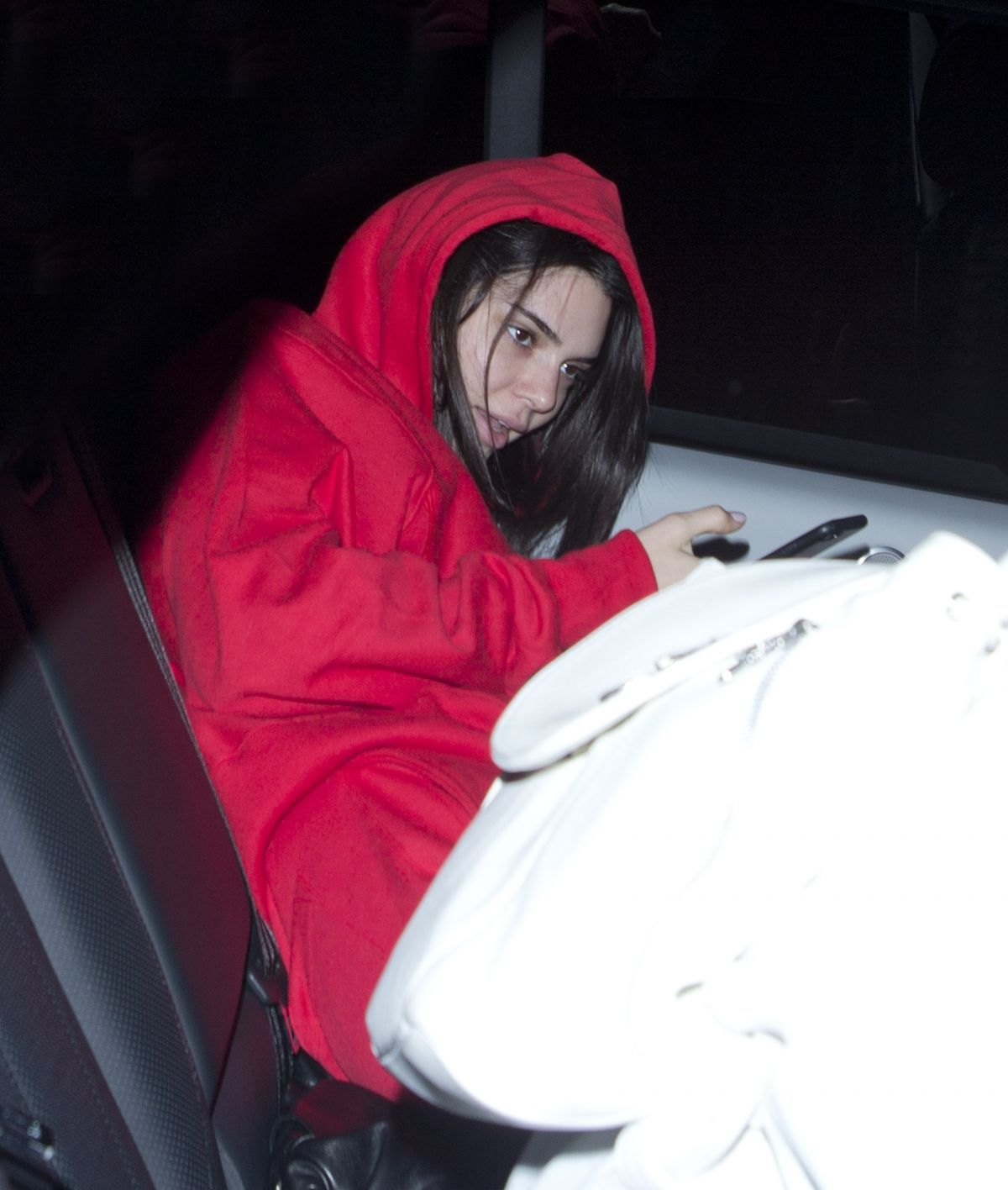 KENDALL JENNER Leaves State Social House in West Hollywood 01/09 ...