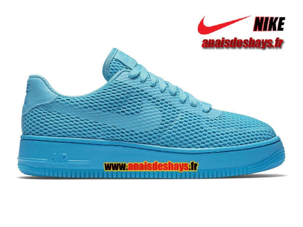 752cbde01bc Nike Air Force 1 Low Upstep BR Homme Bleu gamma Bleu lagon Bleu gamma