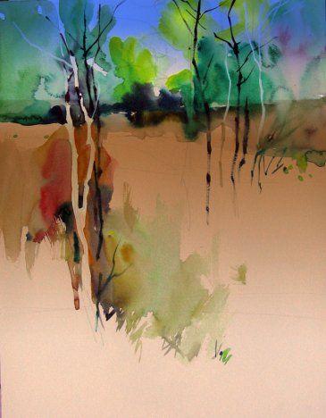 Experimental Milind Mulick 풍경화 팜 나무 나무