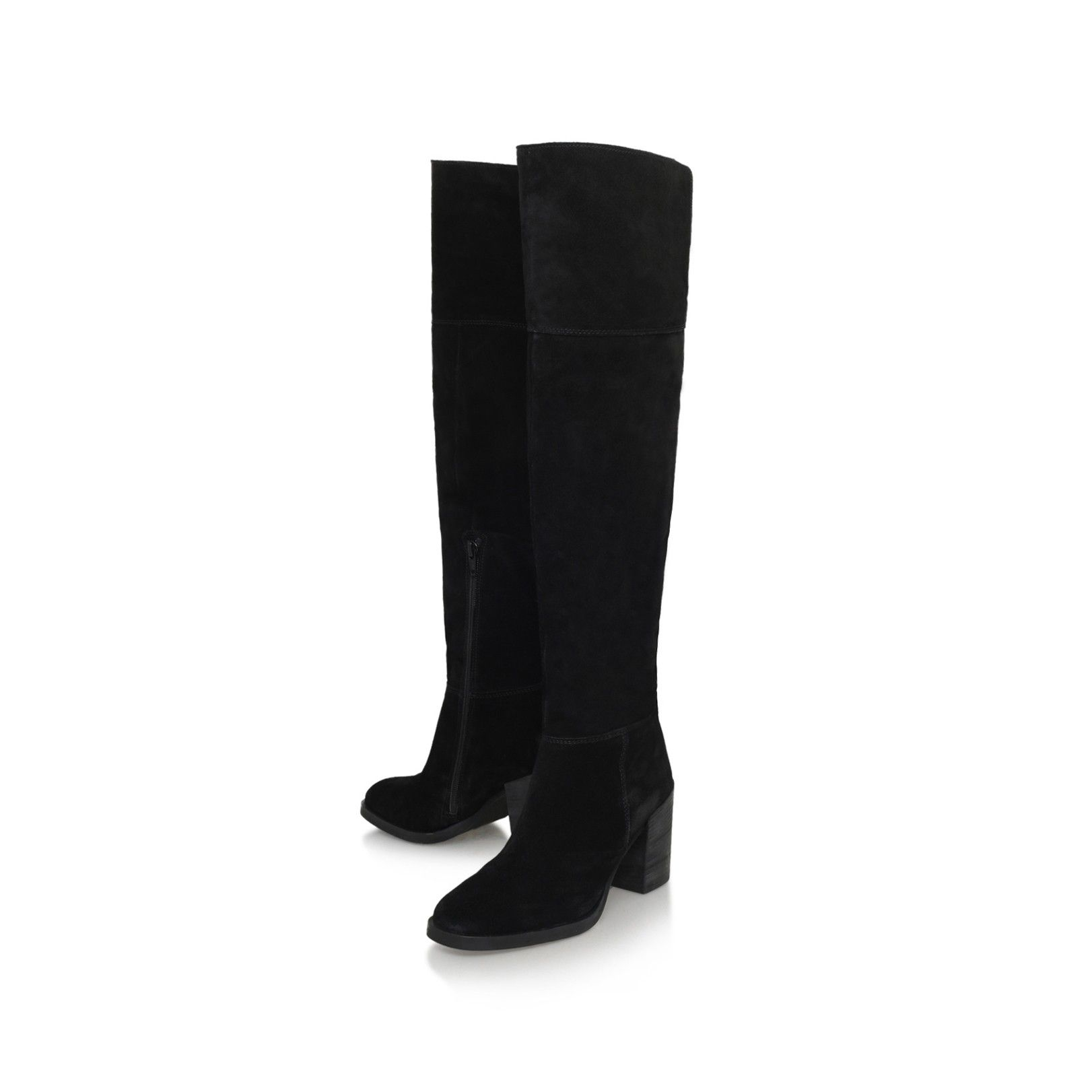 wish black mid heel over the knee boots from Carvela Kurt Geiger