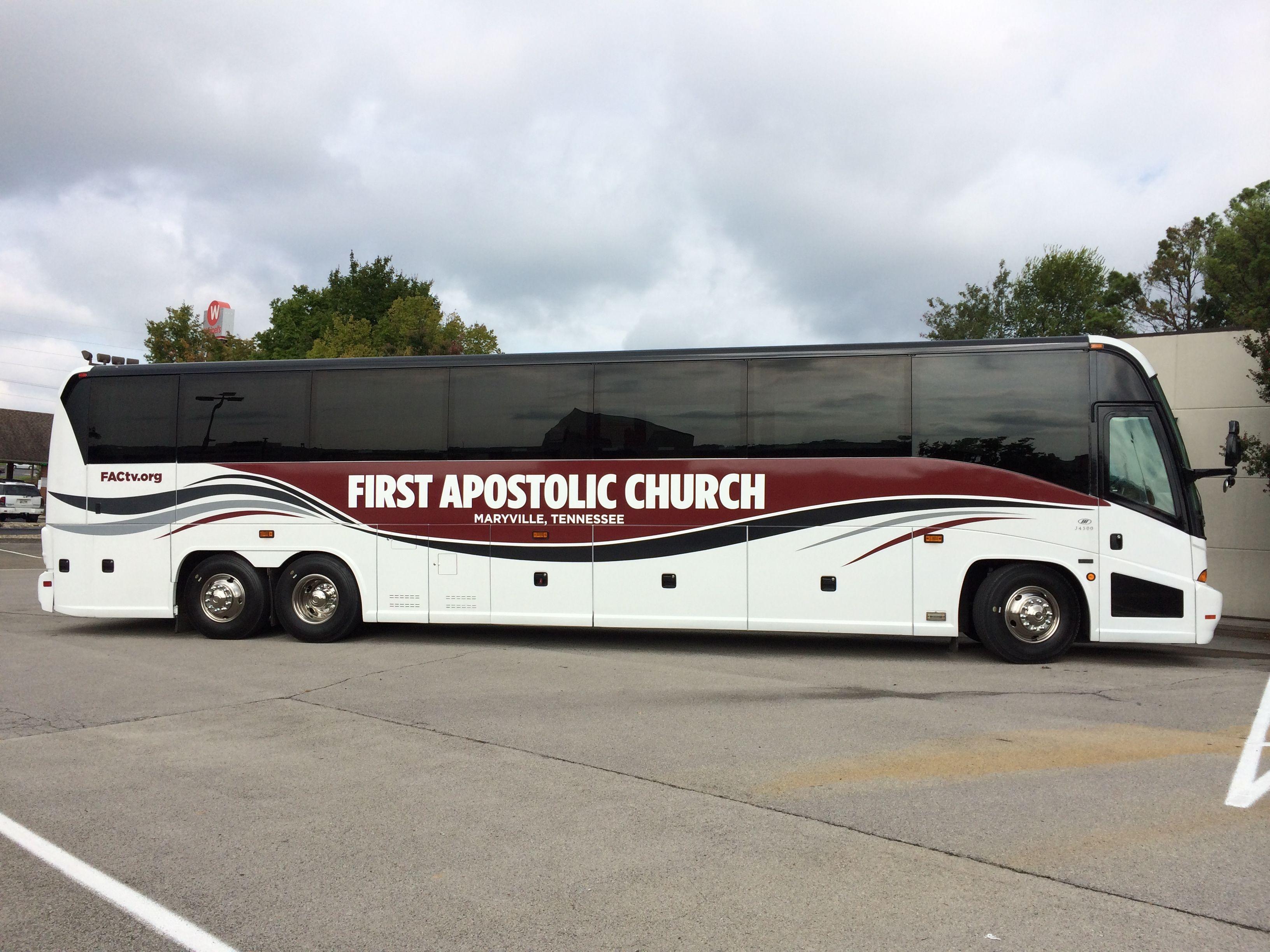 First Apostolic Church Bus Wrap Car Wrap R Vinyl Van Wrap