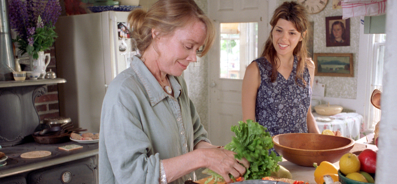 Ruth (Sissy Spacek) U0026 Natalie (Marisa Tomei) Prepare A Meal Together In The  Movie Scene