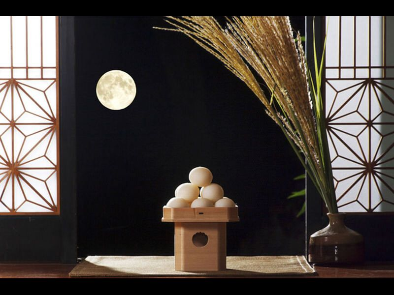 Similar to a harvest moon type celebration Tsukimi: A Fall Tradition From the Heian Period