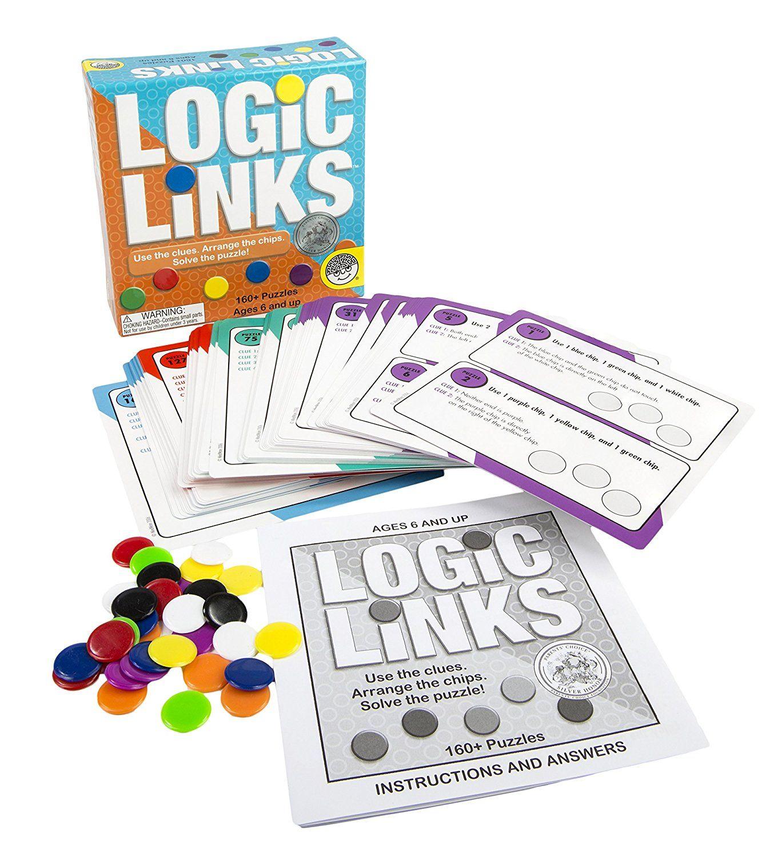 Amazon Logic Links Puzzle Box Toys Amp Games