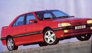 Image result for peugeot 405 gtxi red
