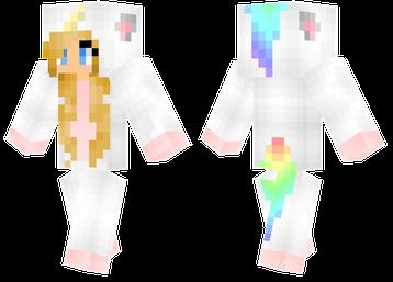 Unicorn Minecraft Pinterest Minecraft Skins Unicorns And - Skin para o minecraft feminina