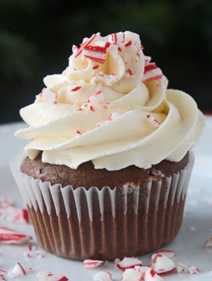 Chocolate Mocha Cupcakes with Peppermint Buttercream by Nicole-Cooking for Keeps