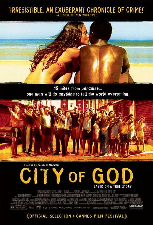 Para ser um vilão, em vez de precisar de uma arma. precisa de idéias. - City of God