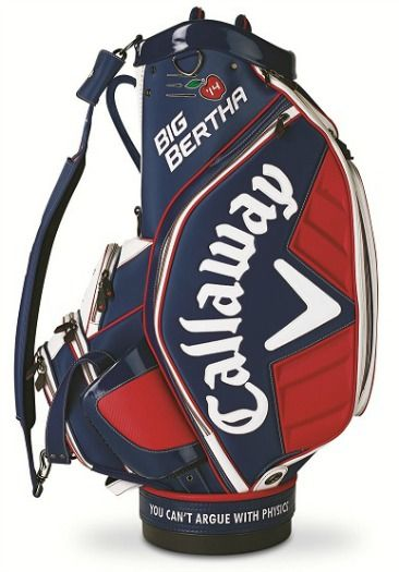9709aa562f732 For J..Callaway Big Bertha Tour Authentic Staff Bag Blue/White/Red ...