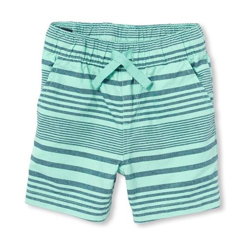 The Childrens Place Baby Boys Woven Jogger Shorts