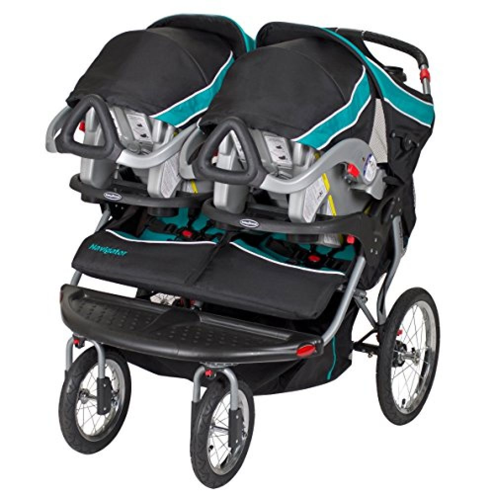 Trend Navigator Double Jogger Stroller, Tropic in 2020
