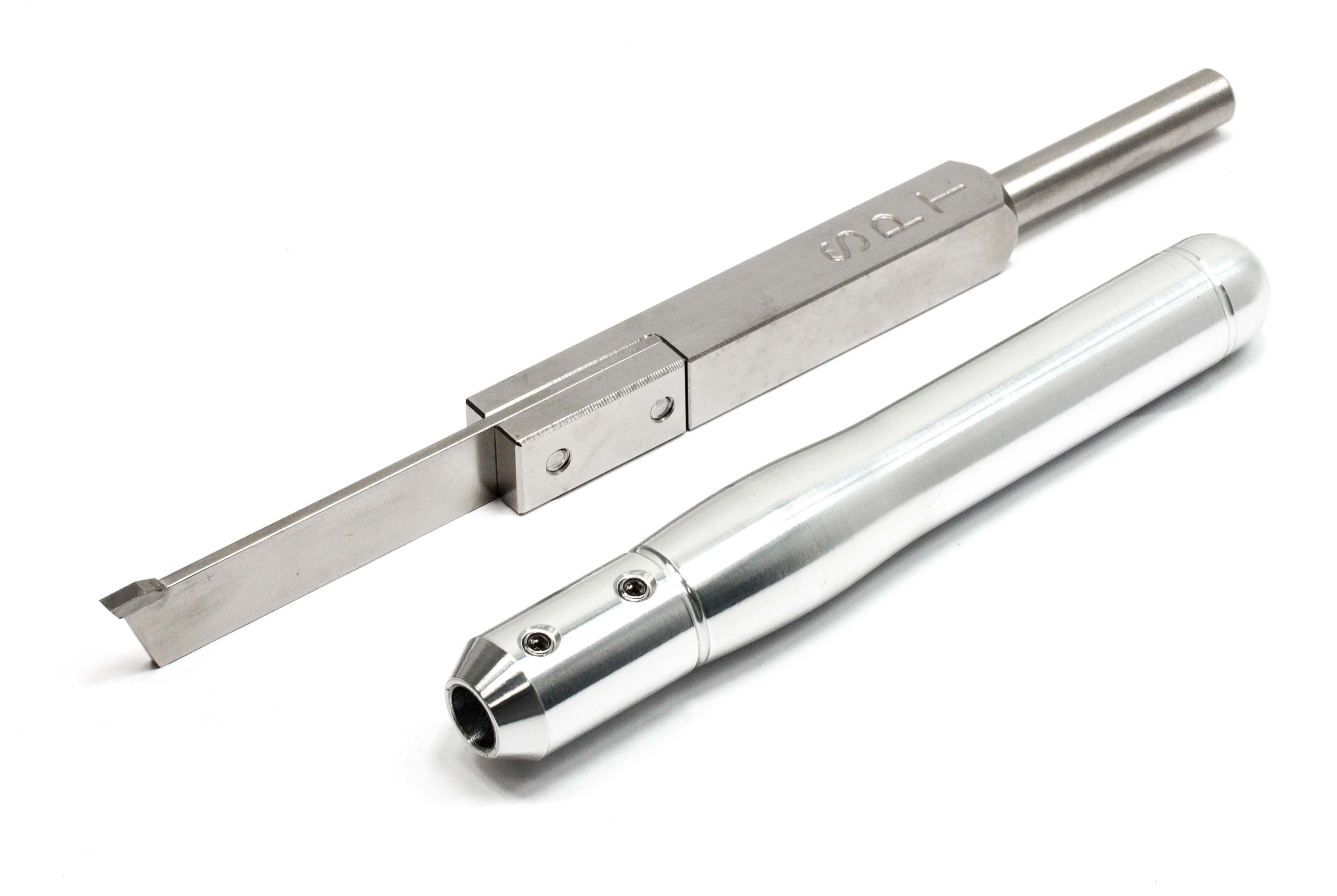 Simple Carbide Parting Tool For Wood Lathe Woodlathe Manny The