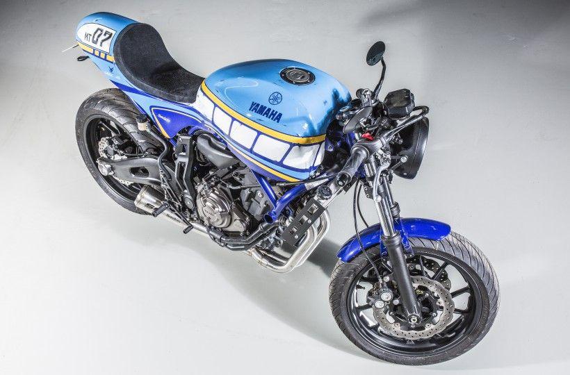 Racing Cafè: Yamaha MT-07 by Benders                              …