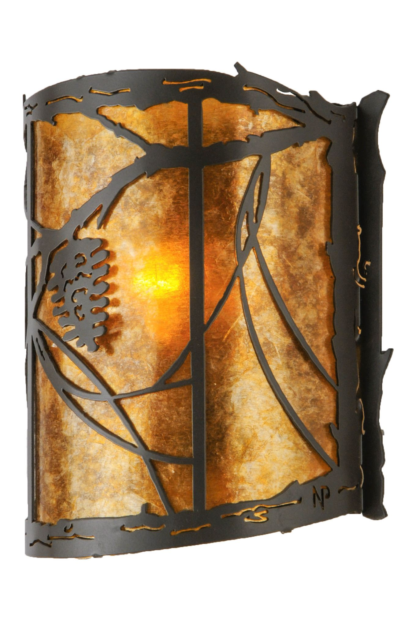 wall light rustic aub inspect sconces home amazoncom s cabin kichler one sconce u