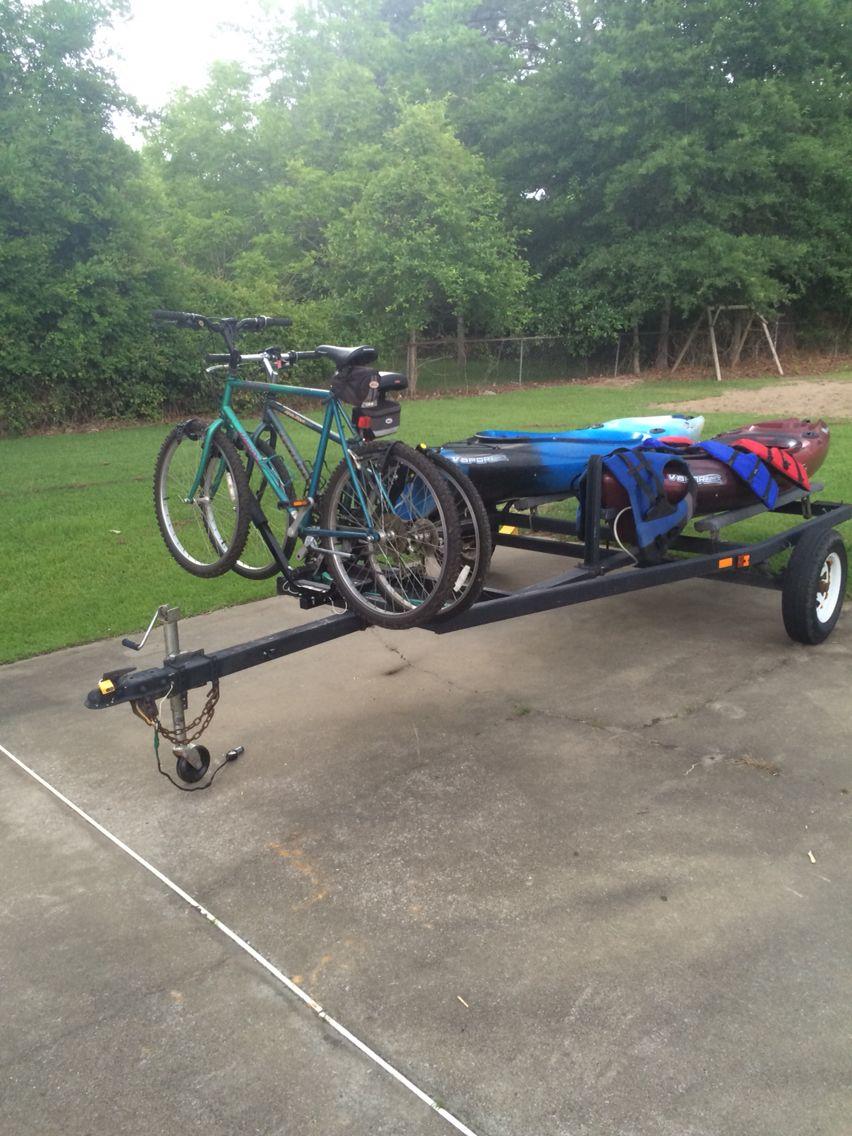 Kayak Bicycle Trailer Pinteres