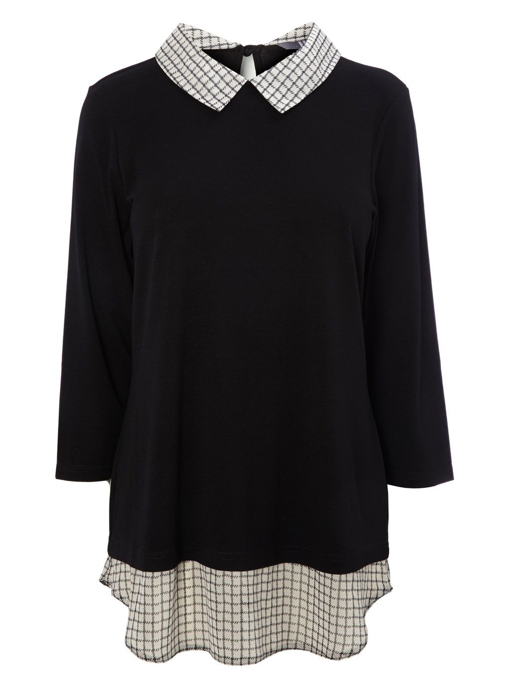 Mock Shirt Jumper Womens