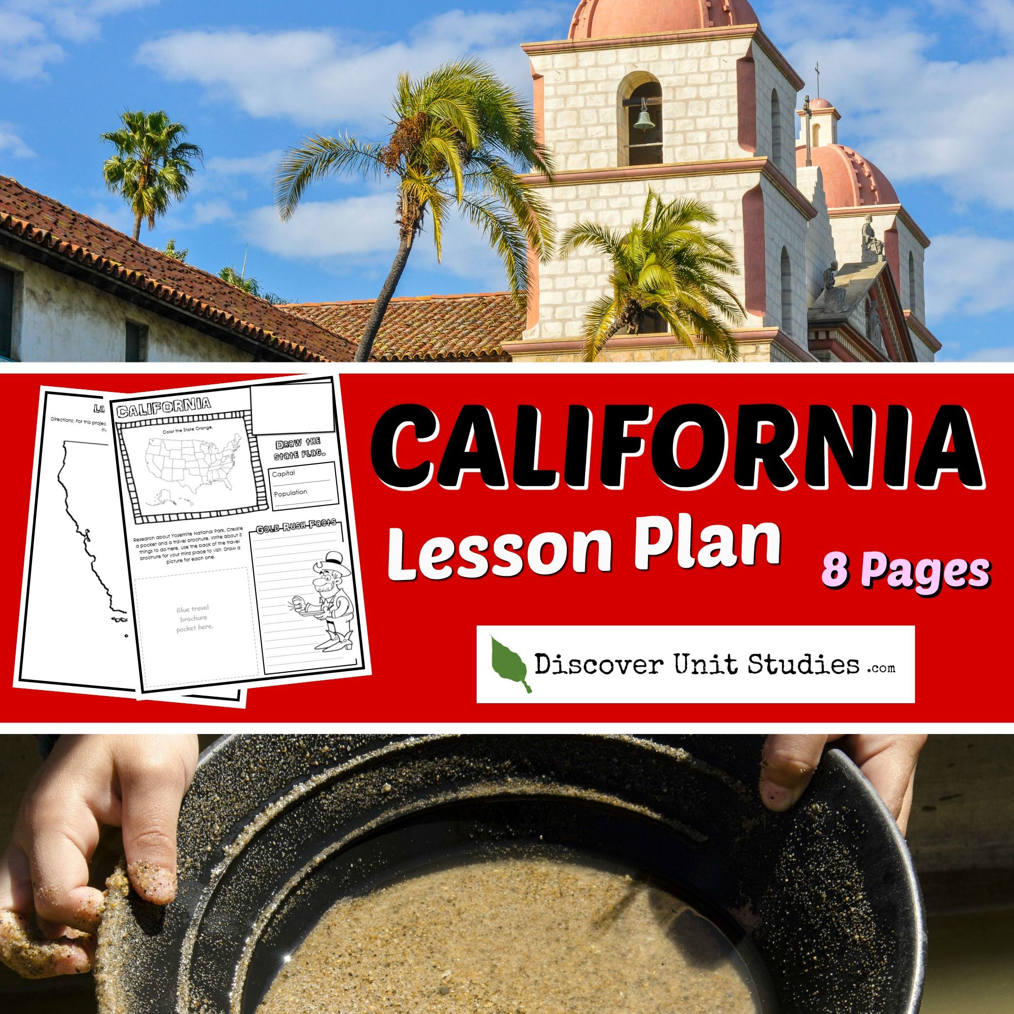 Enjoy Learning About California With This 8 Page Download
