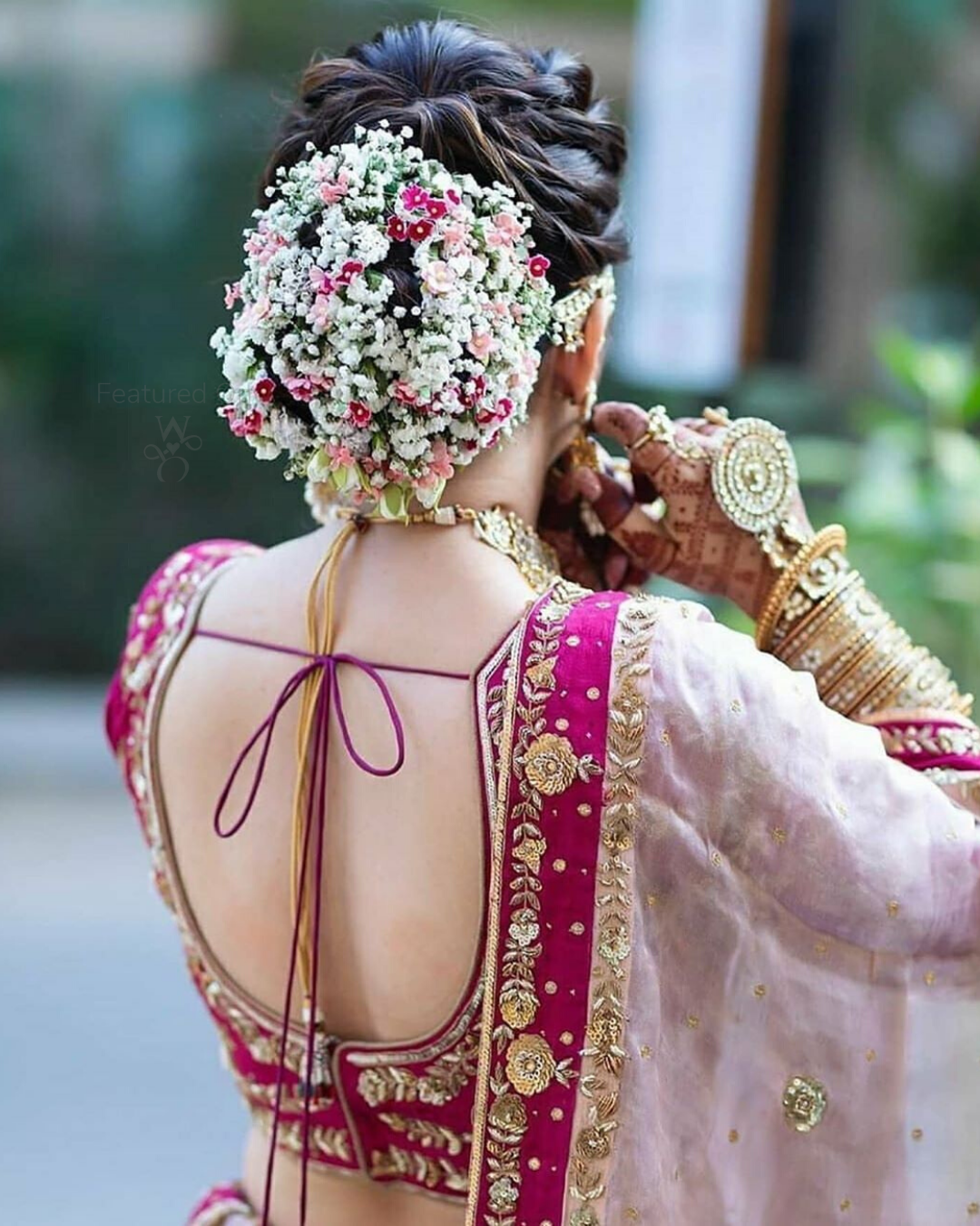 Bun Hairstyle Ideas Bridal Hairstyle Ideas Unique Hairstyle Wedding Hairstyle In Bridal Hairstyle Indian Wedding Bridal Hair Buns Indian Bride Hairstyle
