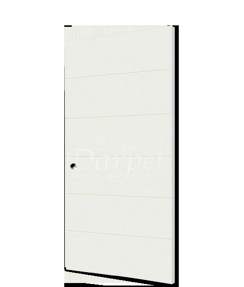 Brio Flush Primed Groove Interior Door
