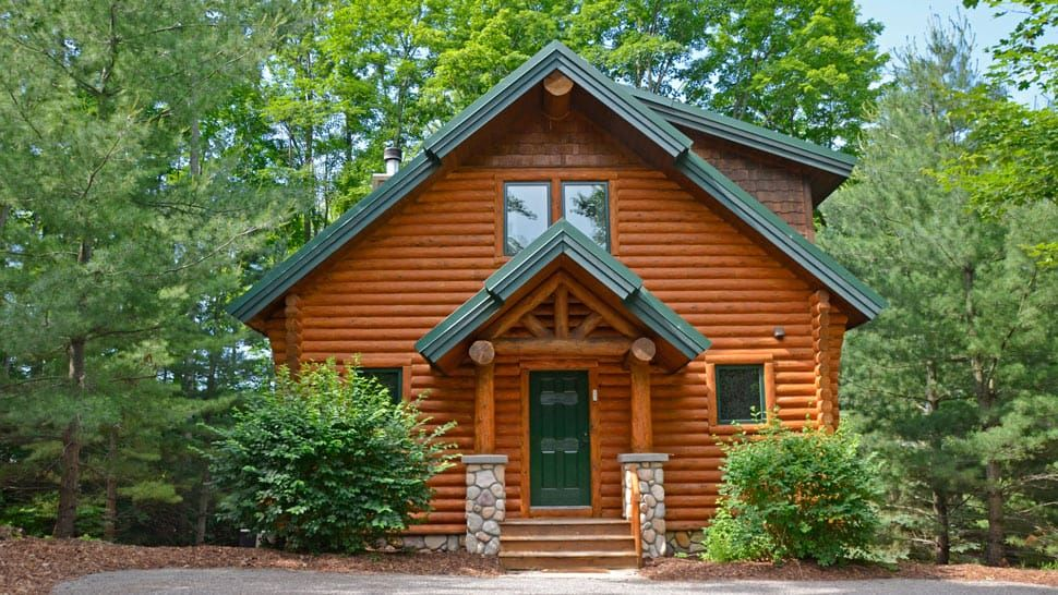 Mountain Cabins Are Three And Four Bedroom Rustic Cabins That Are Built In A Light Wooded Area Close To Golf And The Alpine Chairlift To The Slopes Kompoziciya