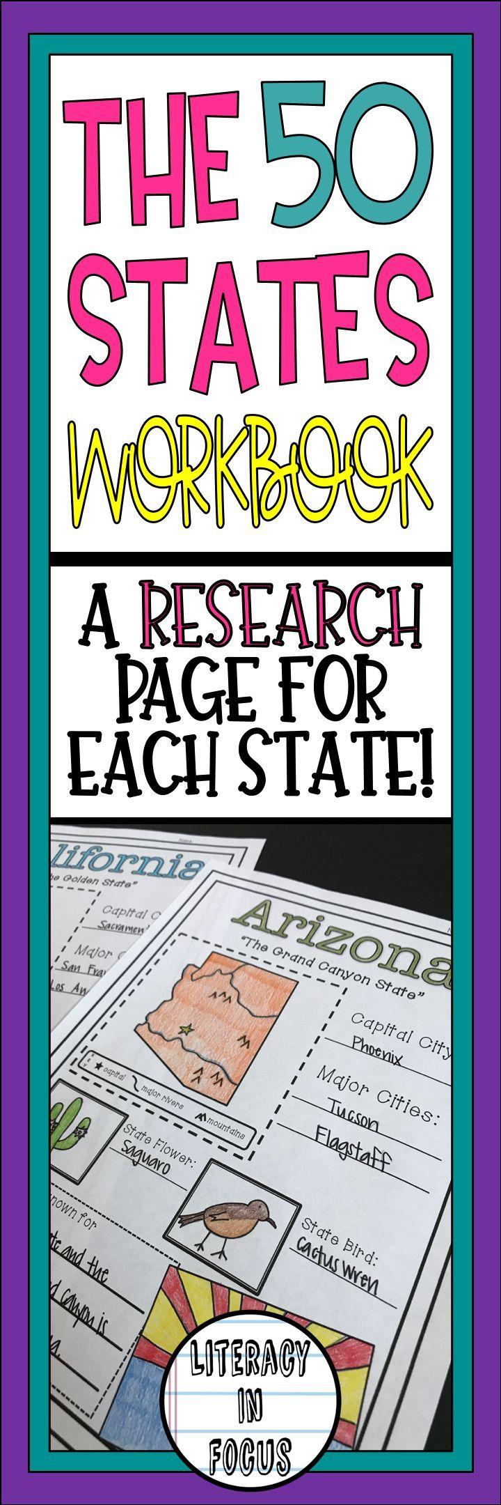 Workbooks golosa workbook : The 50 States Research Workbook