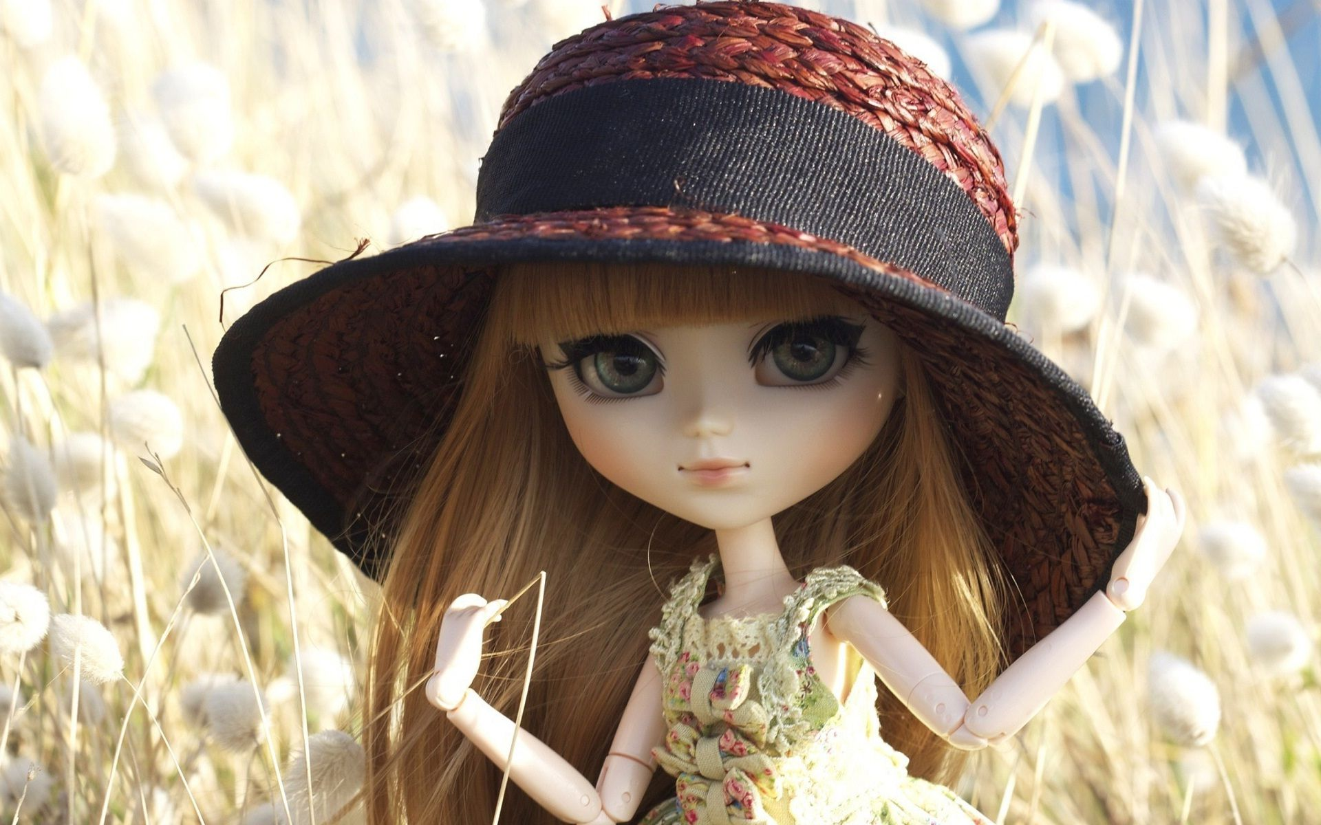 new cute and sweet dolls wallpapers images (8) - hd wallpapers buzz